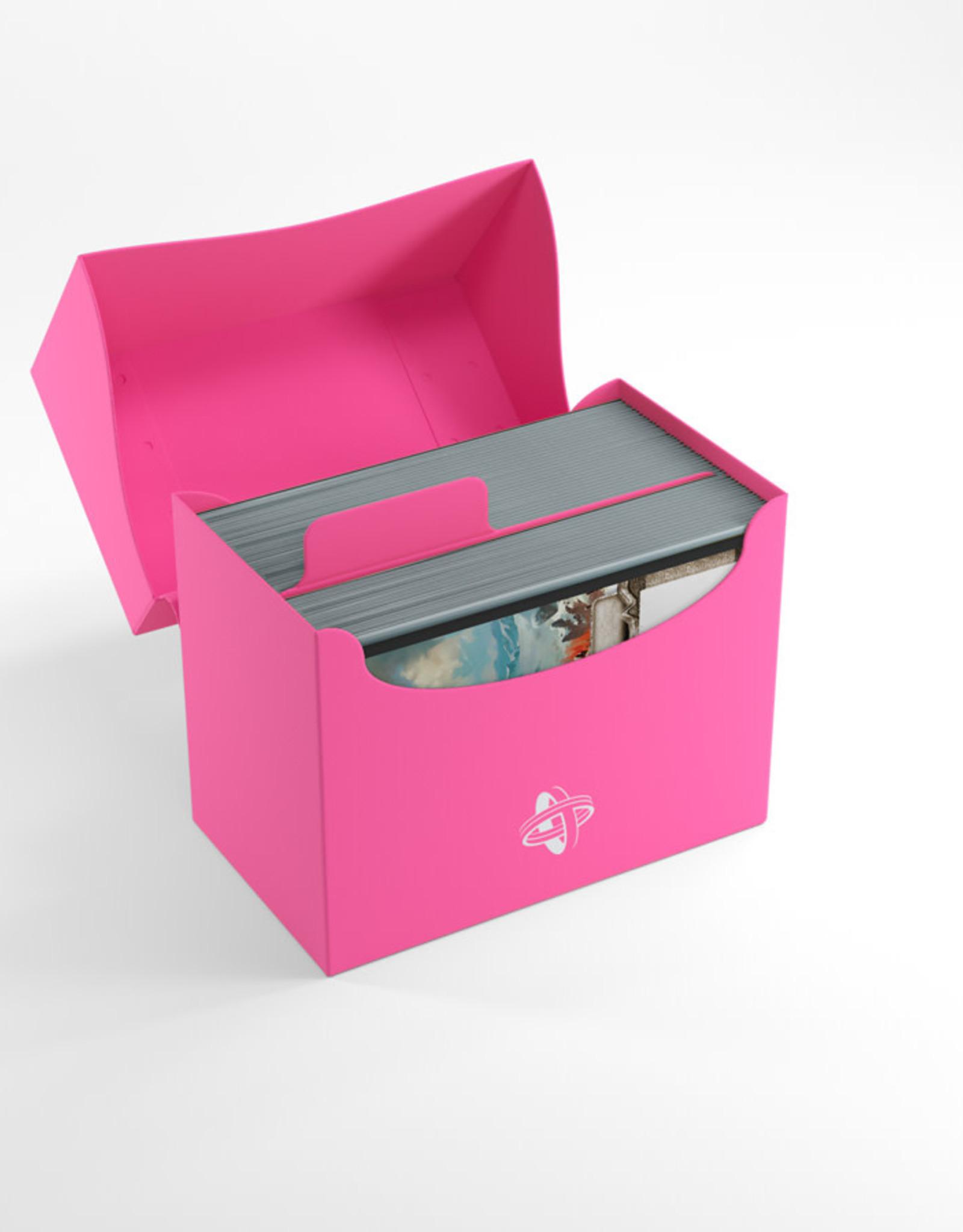 Deck Box: Side Holder 80+ Pink