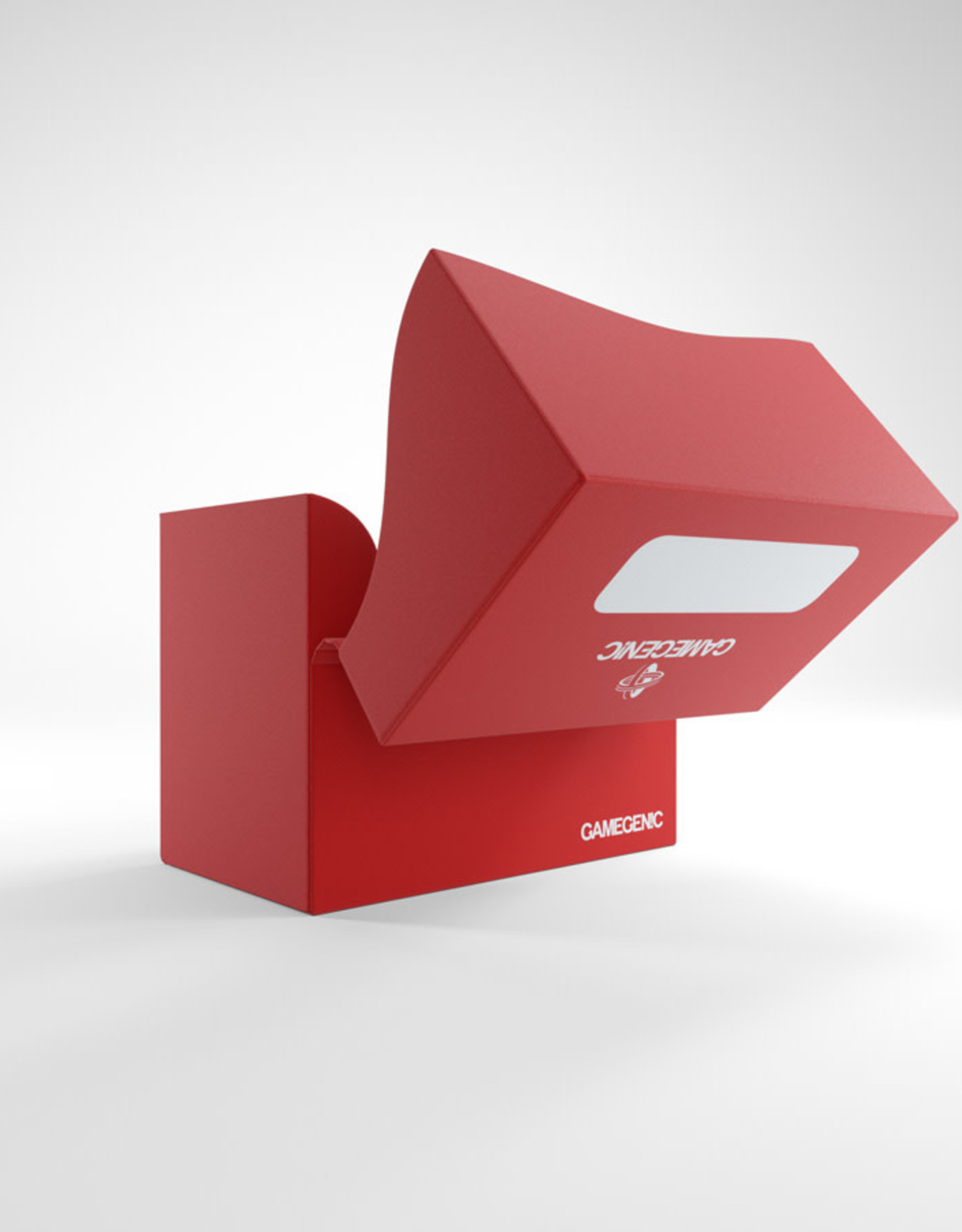 Deck Box: Side Holder 80+ Red