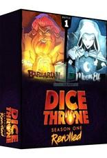 Roxley Games Dice Throne Season 1 Box 1 Barbarian vs. Moon Elf