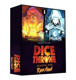 Roxley Games Dice Throne Season 1 Box 1 Barbarian vs. Moon Elf (Pre-Order)