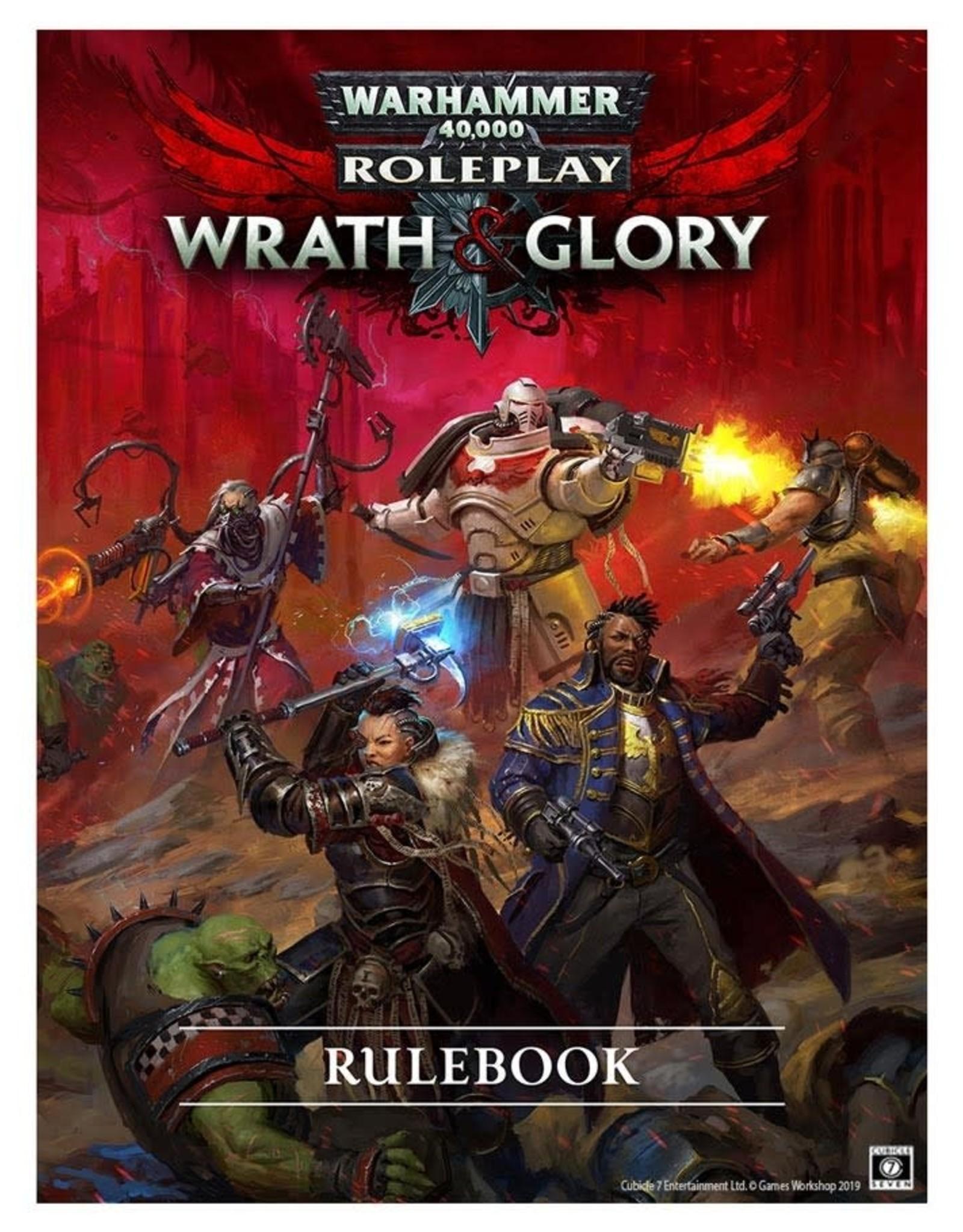 Crucible 7 Warhammer 40K Wrath & Glory RPG: Core Rulebook Revised (Pre-Order)