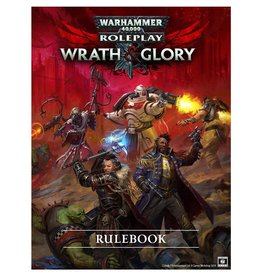 Crucible 7 Warhammer 40K Wrath & Glory RPG: Core Rulebook Revised (Pre-Order)