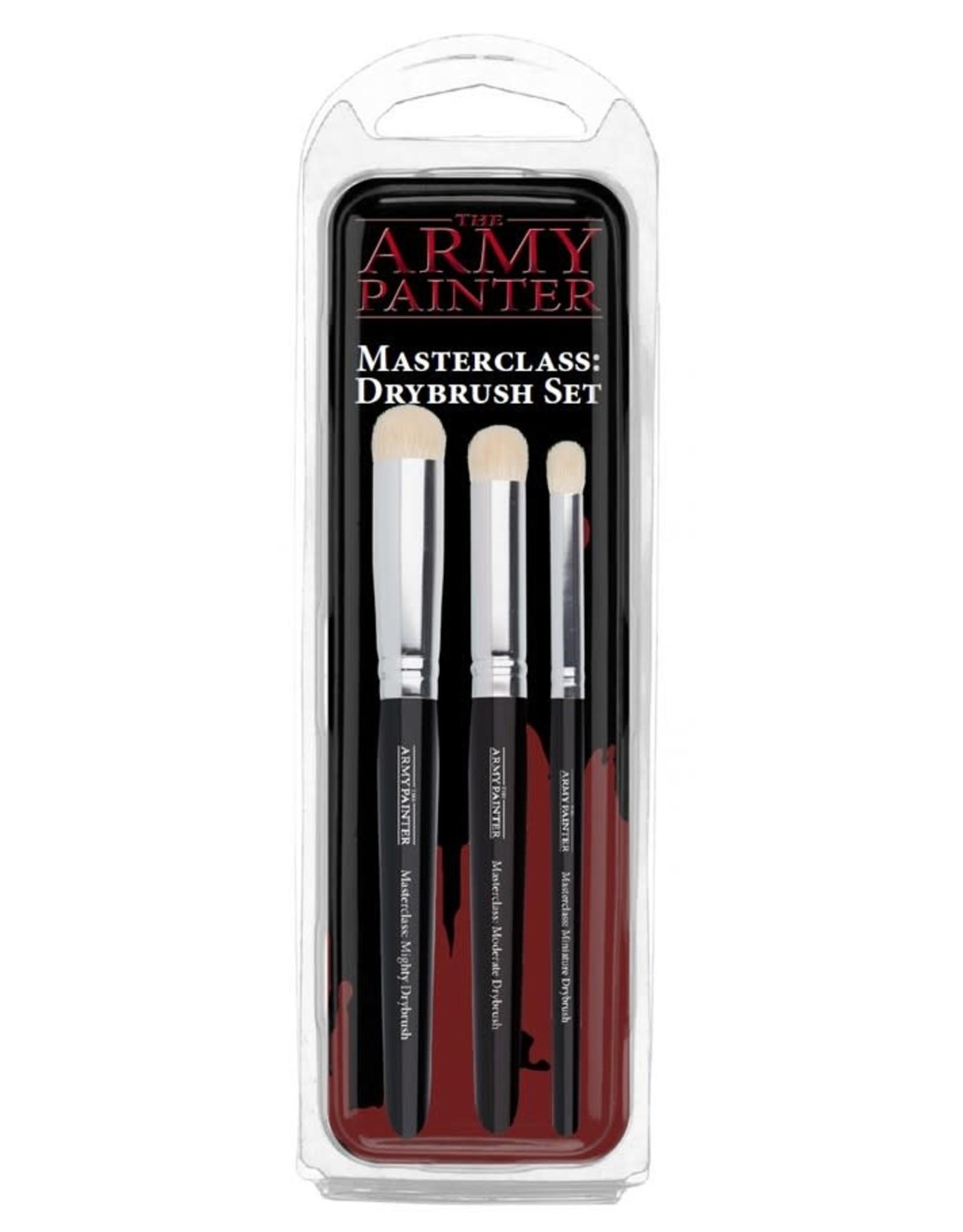 Wargamer Brush: Masterclass Drybrush Set