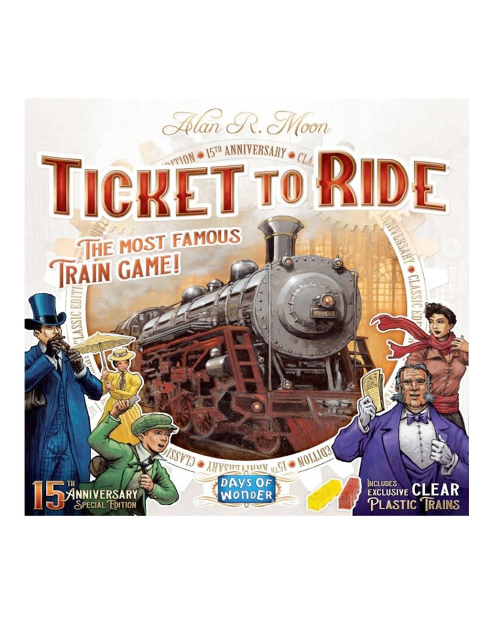 Ticket to Ride USA 15th Anniversary