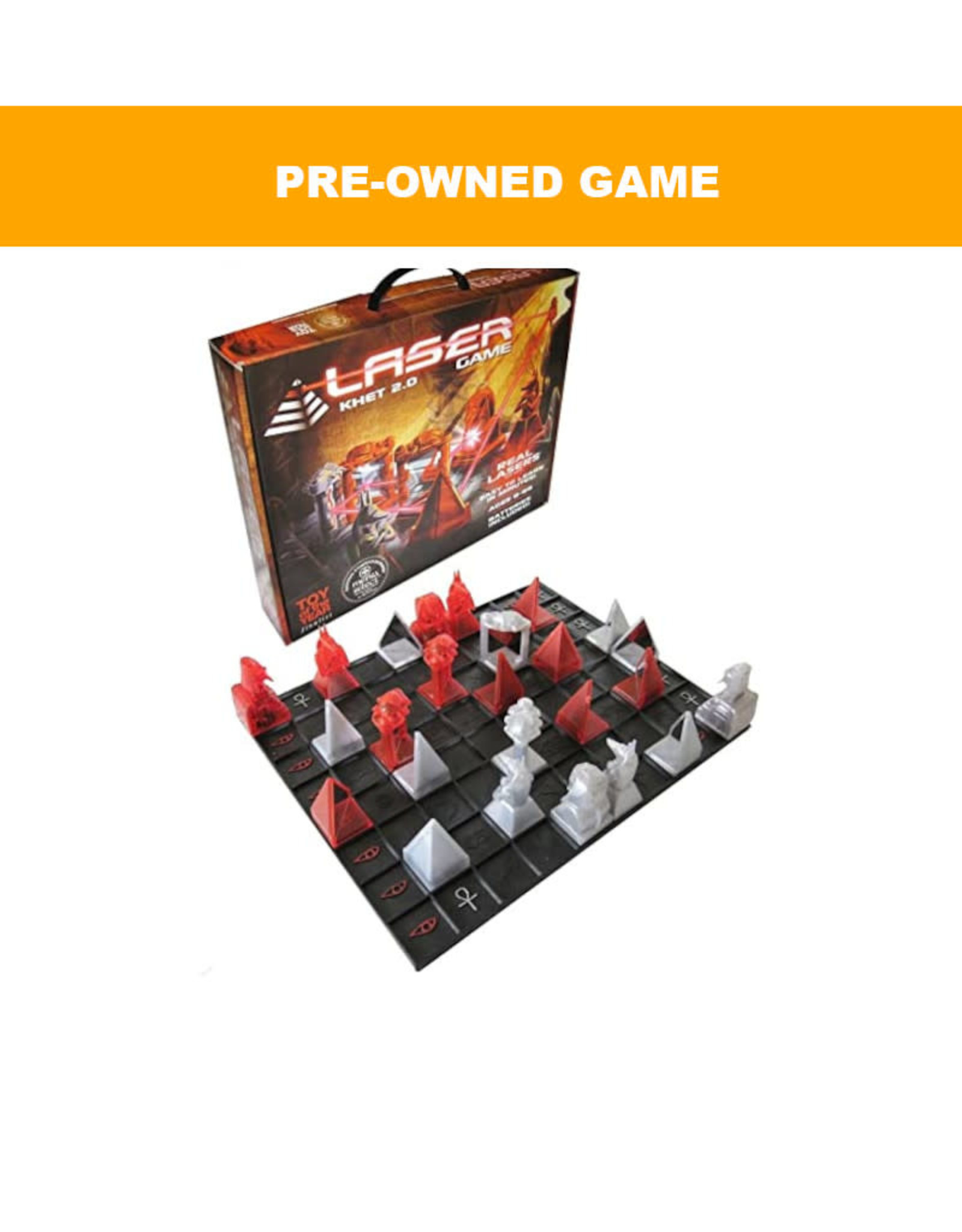 Miscellaneous (Pre-Owned Game) Khet 2.0 Laser Game
