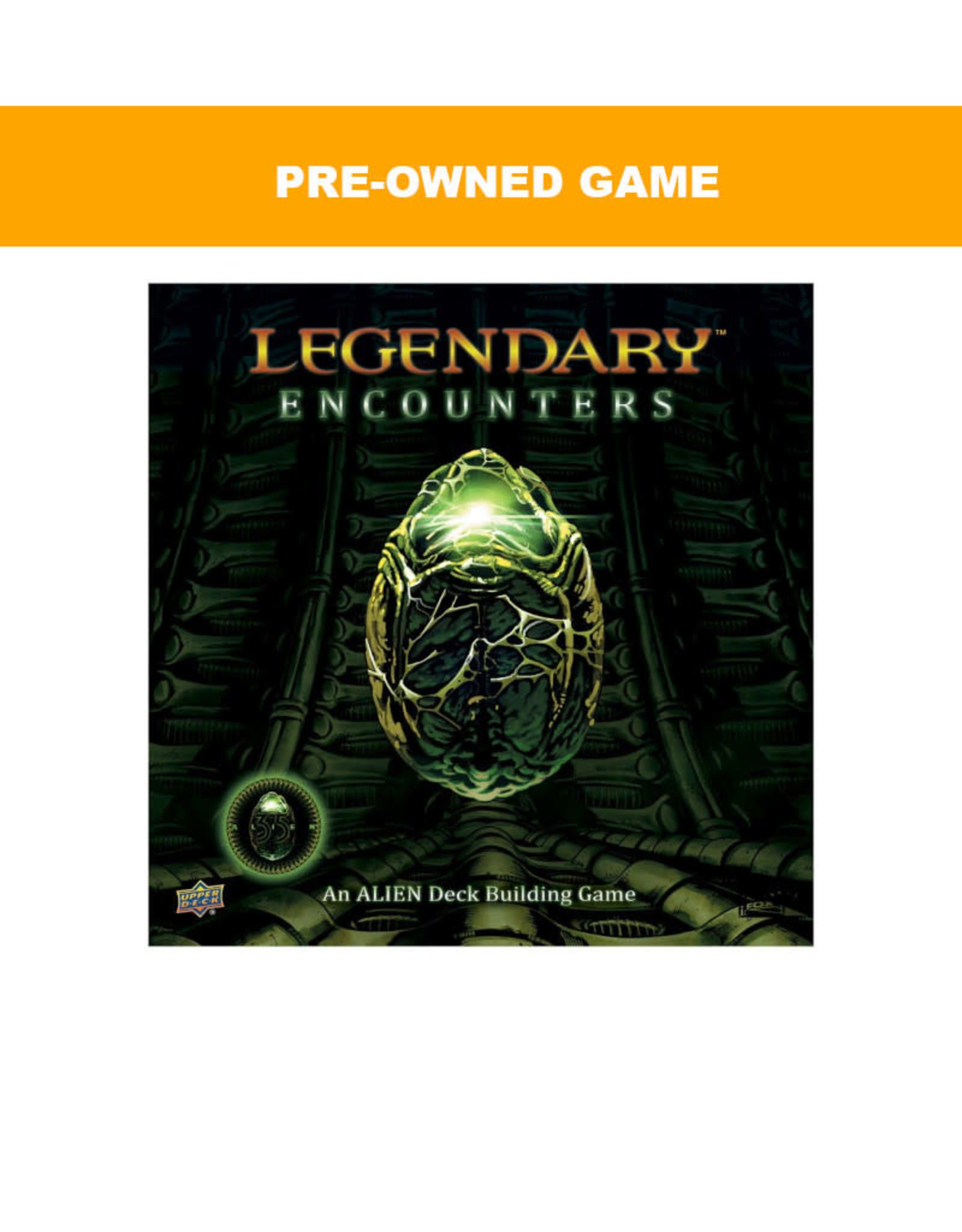 Upper Deck (Pre-Owned Game) Legendary Encounters Alien DBG