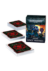 Games Workshop Warhammer 40K Datacards Space Marines