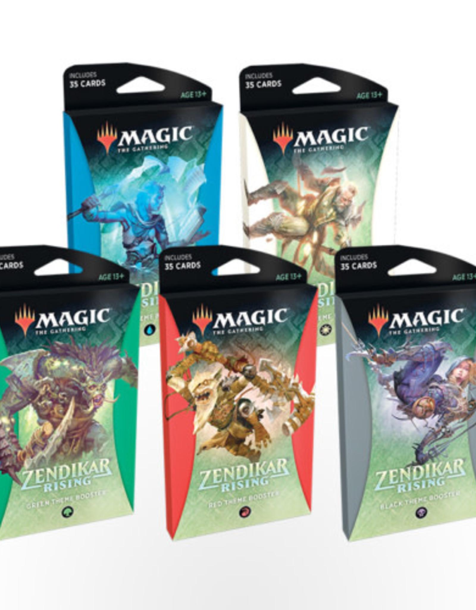 Wizards of the Coast MTG Zendikar Rising Theme Booster