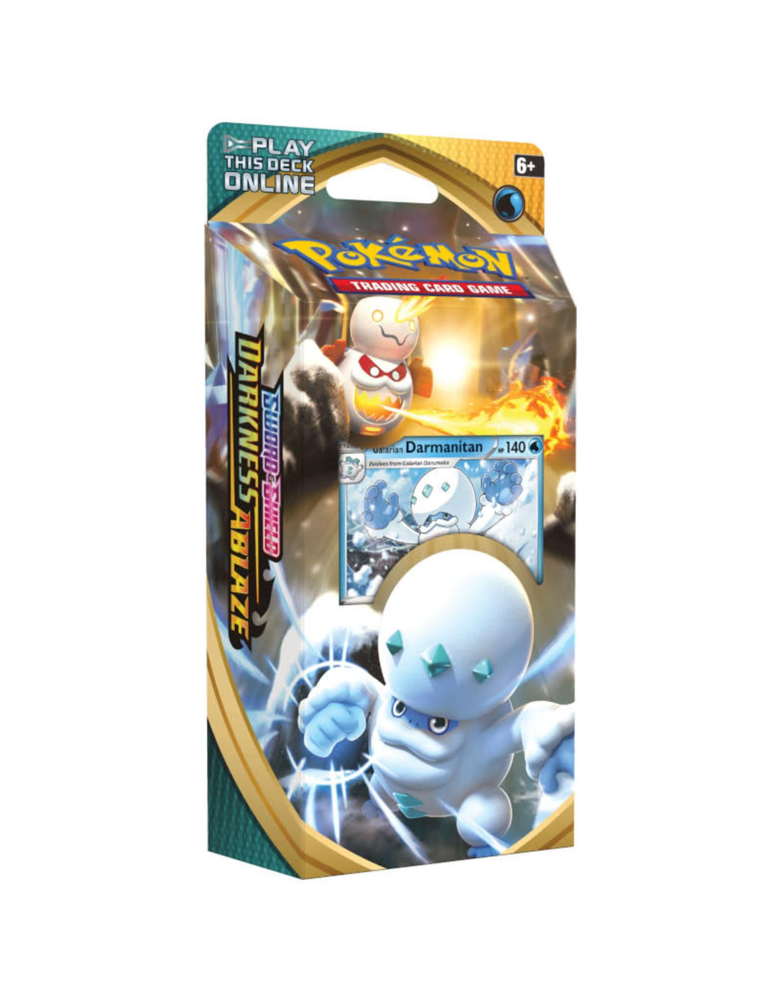 Pokemon Pokemon Darkness Ablaze Theme Deck - Galarian Darmanitan (Pre-Order)