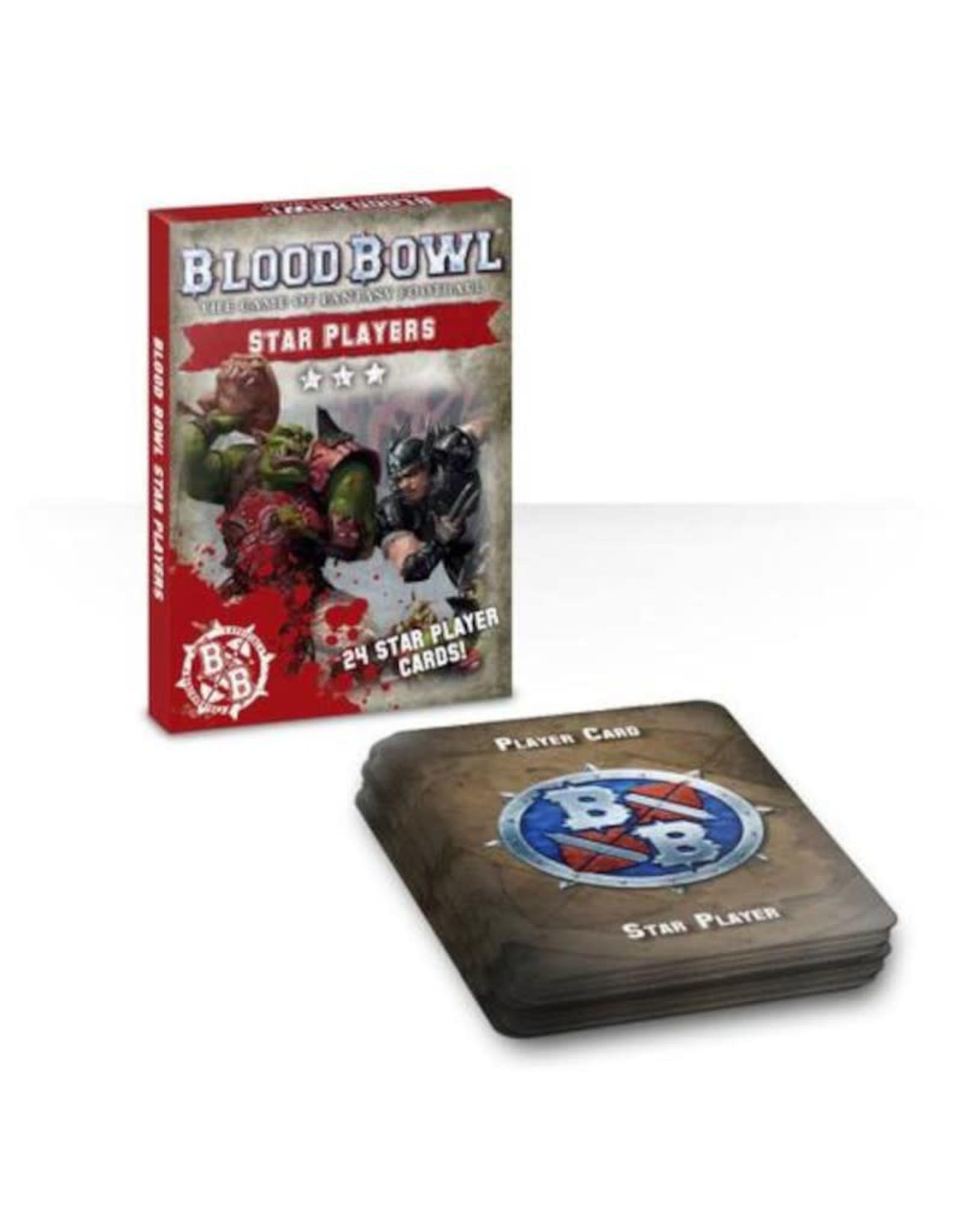 Games Workshop Blood Bowl Cards: Star Player Pack