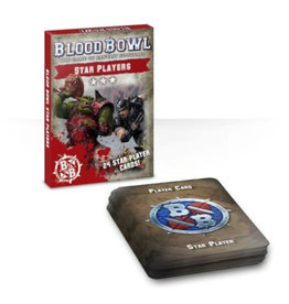 Games Workshop Blood Bowl Cards: Star Player Pack