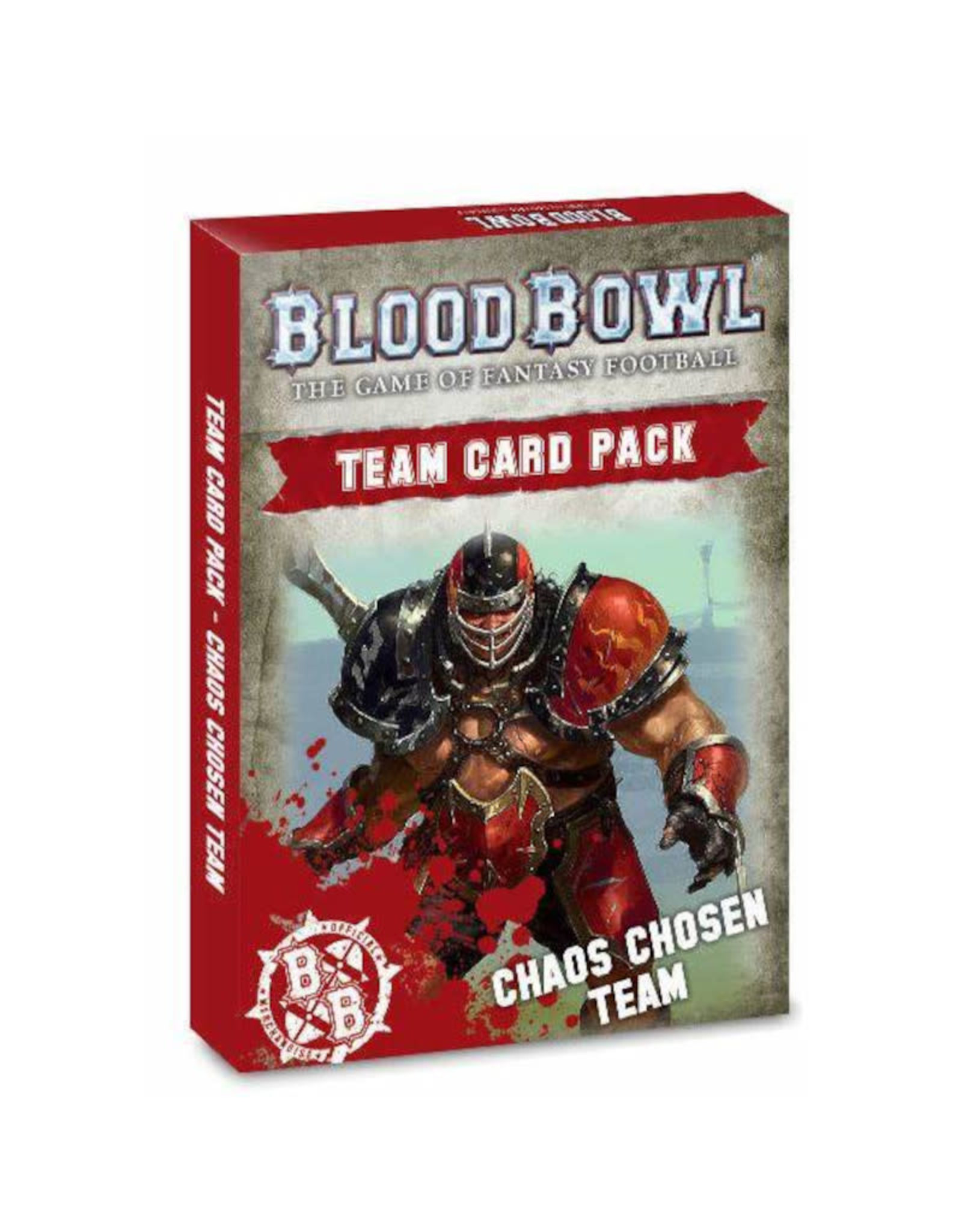 Games Workshop Blood Bowl Chaos Chosen Team Cards