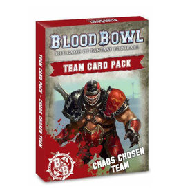 Games Workshop Blood Bowl Chaos Chosen Team Cards