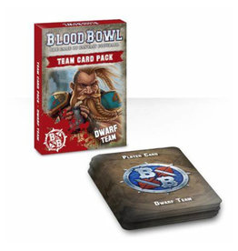 Games Workshop Blood Bowl Cards: Dwarf Team