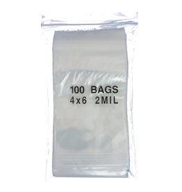 Game Night Games Plastic Storage Bags 4 x 6 Inch (100)
