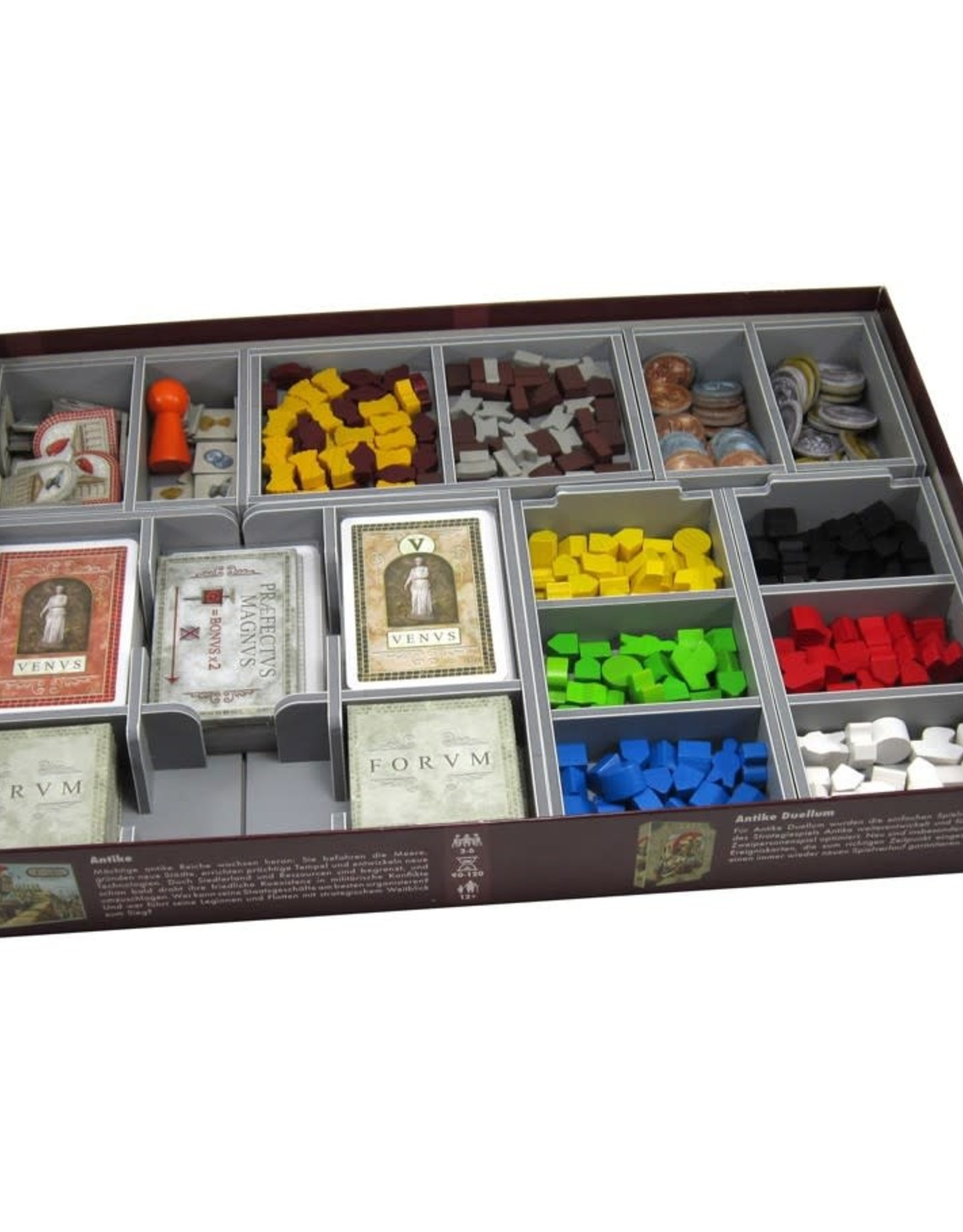 Folded Space Box Insert: Concordia (room for Venus & Salsa Expansions)