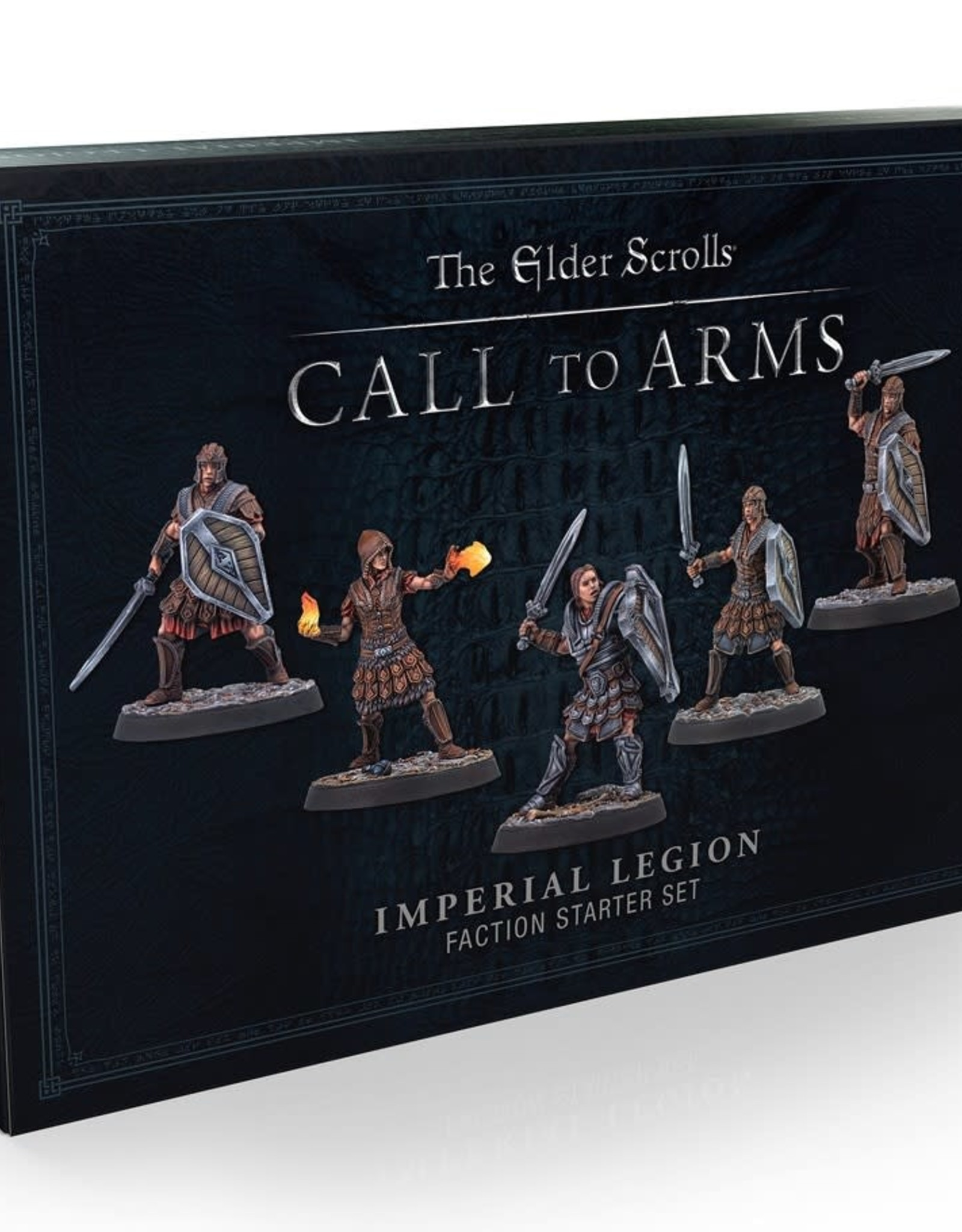 Modiphius Elder Scrolls Call To Arms: Imperial Legion Plastic Faction Starter