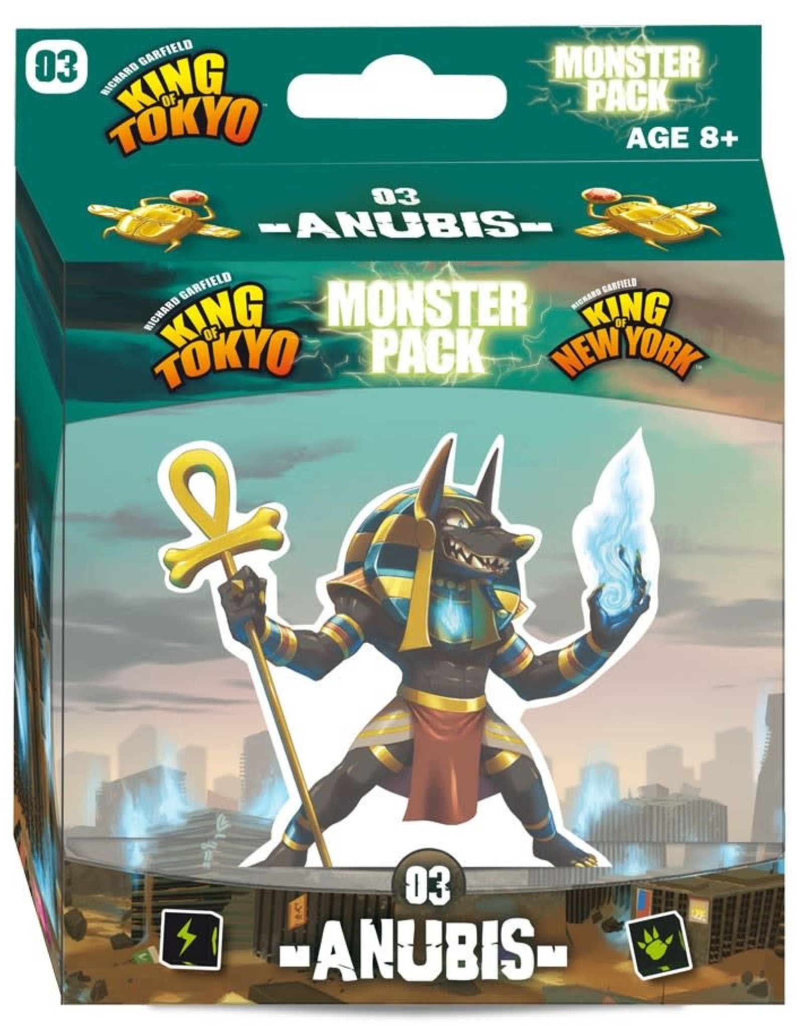 Iello King of Tokyo: Monster Pack 3 Anubis