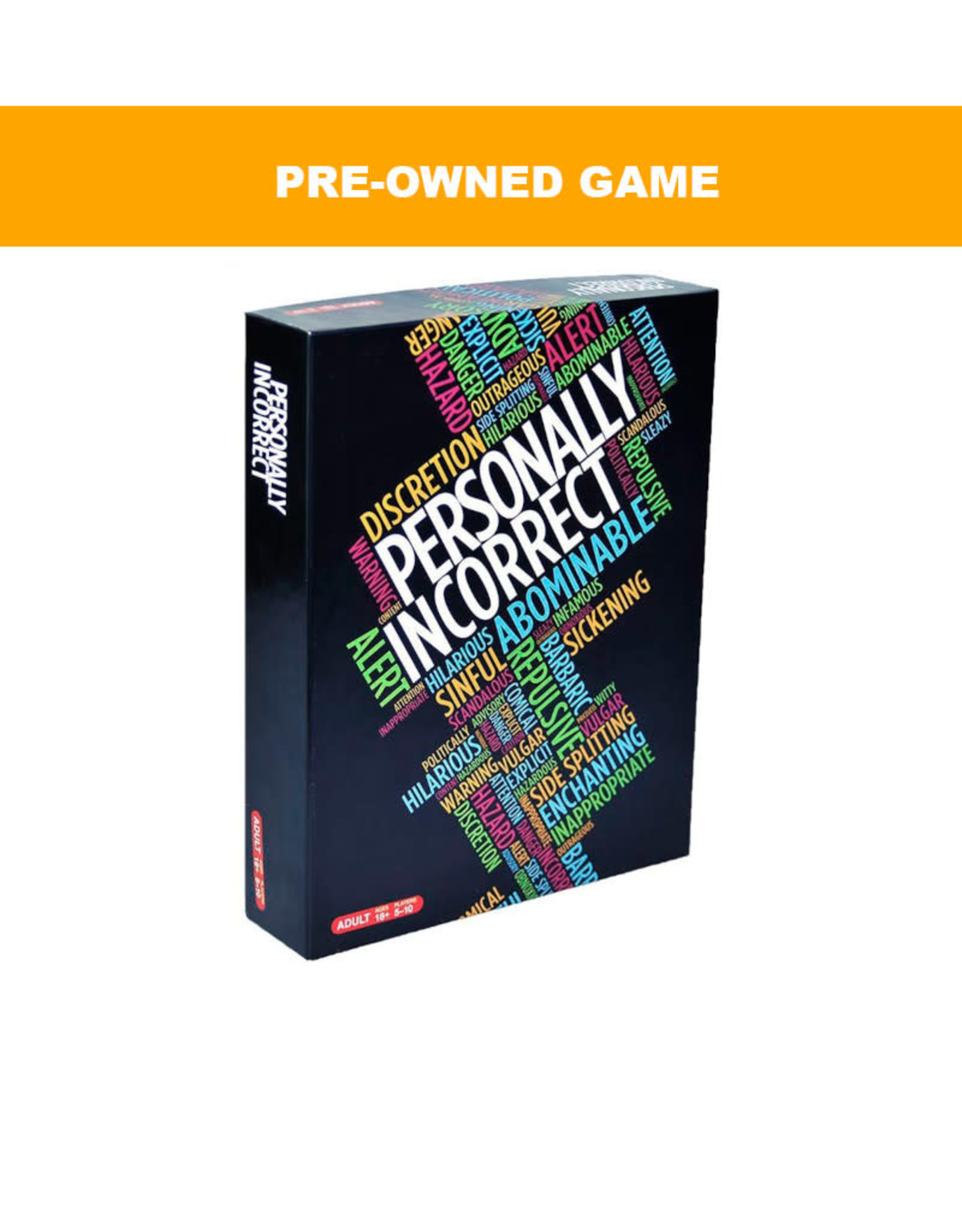 (Pre-Owned Game)  Personally Incorrect