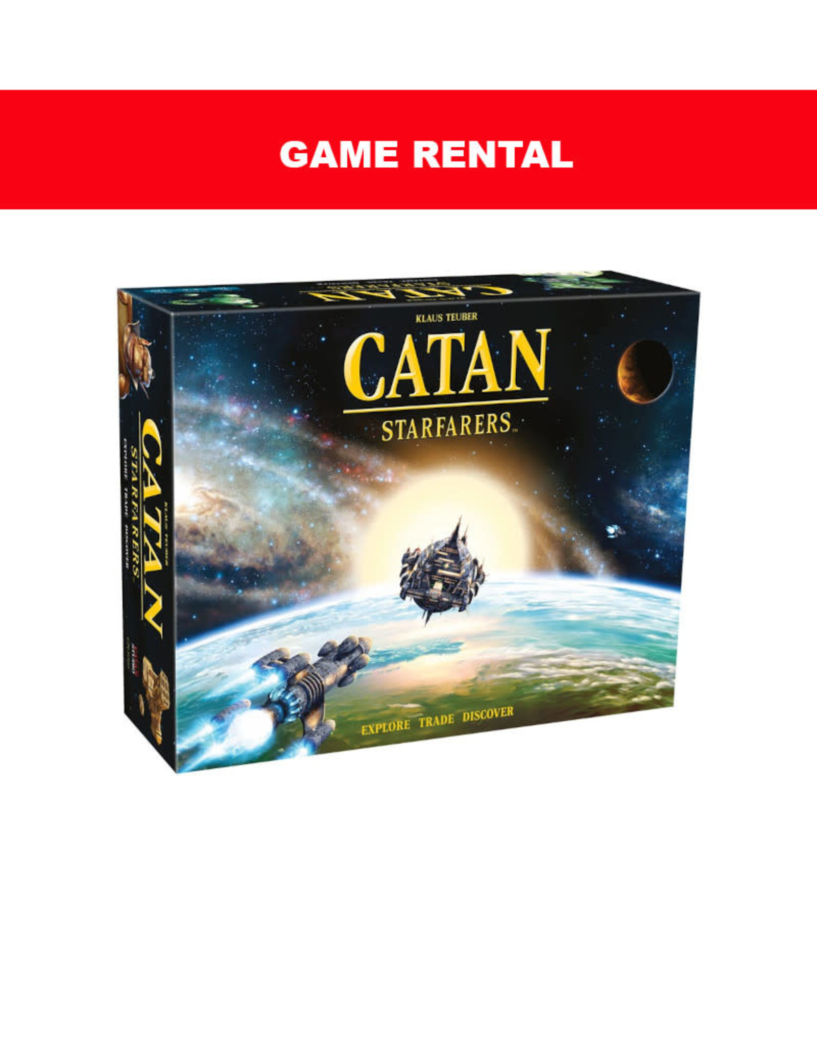 (RENT) Catan Starfarers for a Day. Love It! Buy It!