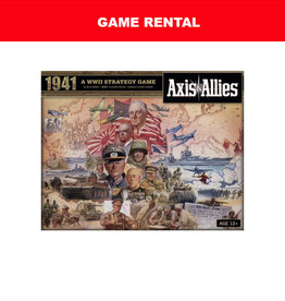 Avalon Hill (RENT) Axis and Allies 1941 for a Day. Love It! Buy It!