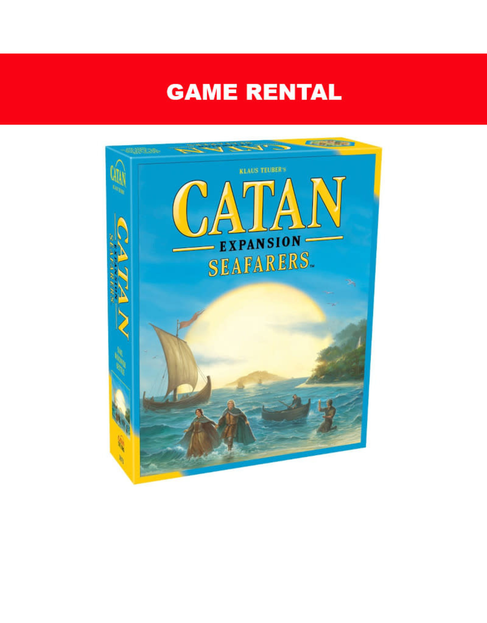 (RENT) Catan Seafarers Expansion for a Day. Love It! Buy It!