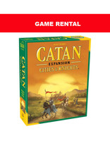 (RENT) Catan Cities & Knights per day. Love it! Buy it!
