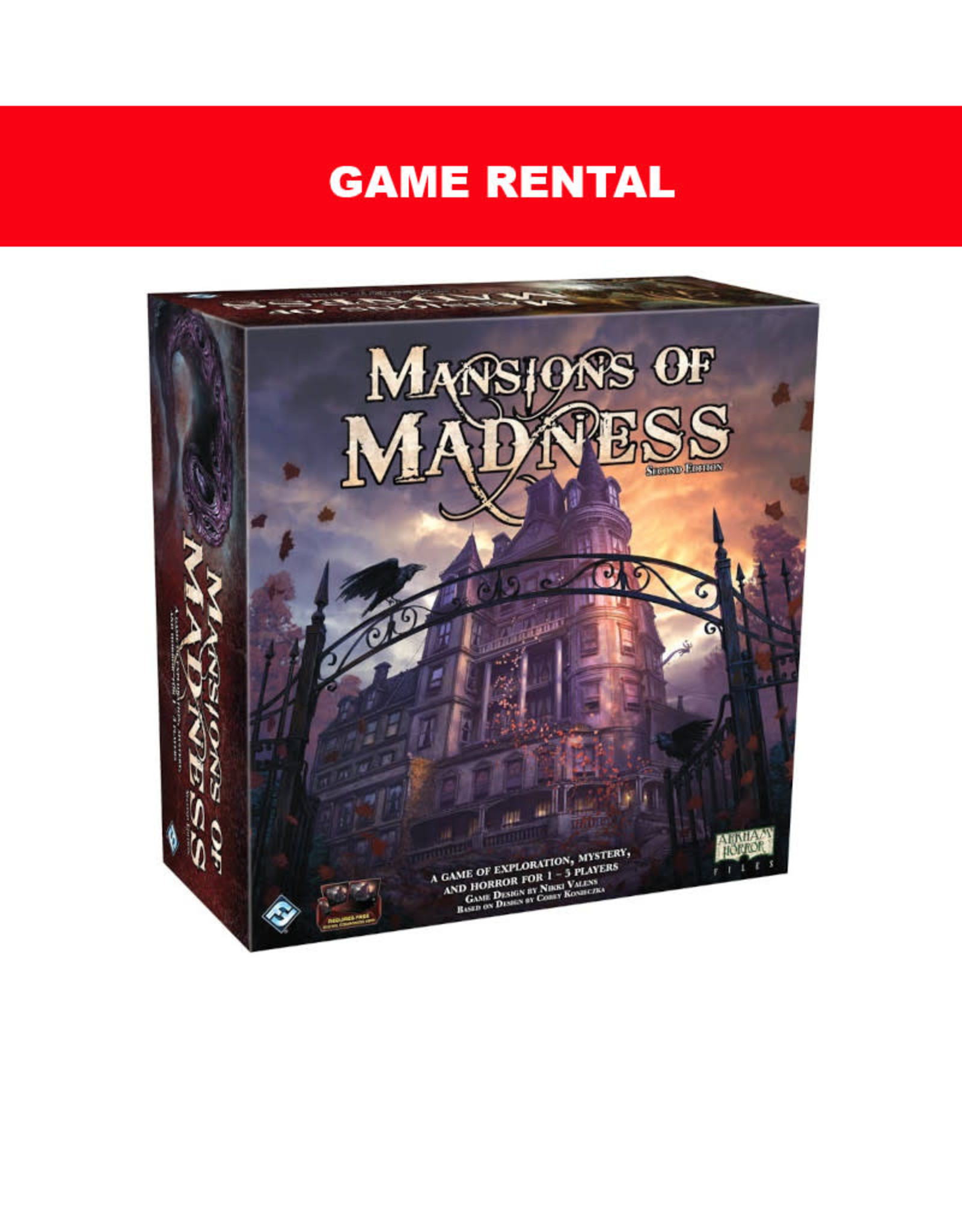 (RENT) Mansions of Madness for a Day. Love It! Buy It!