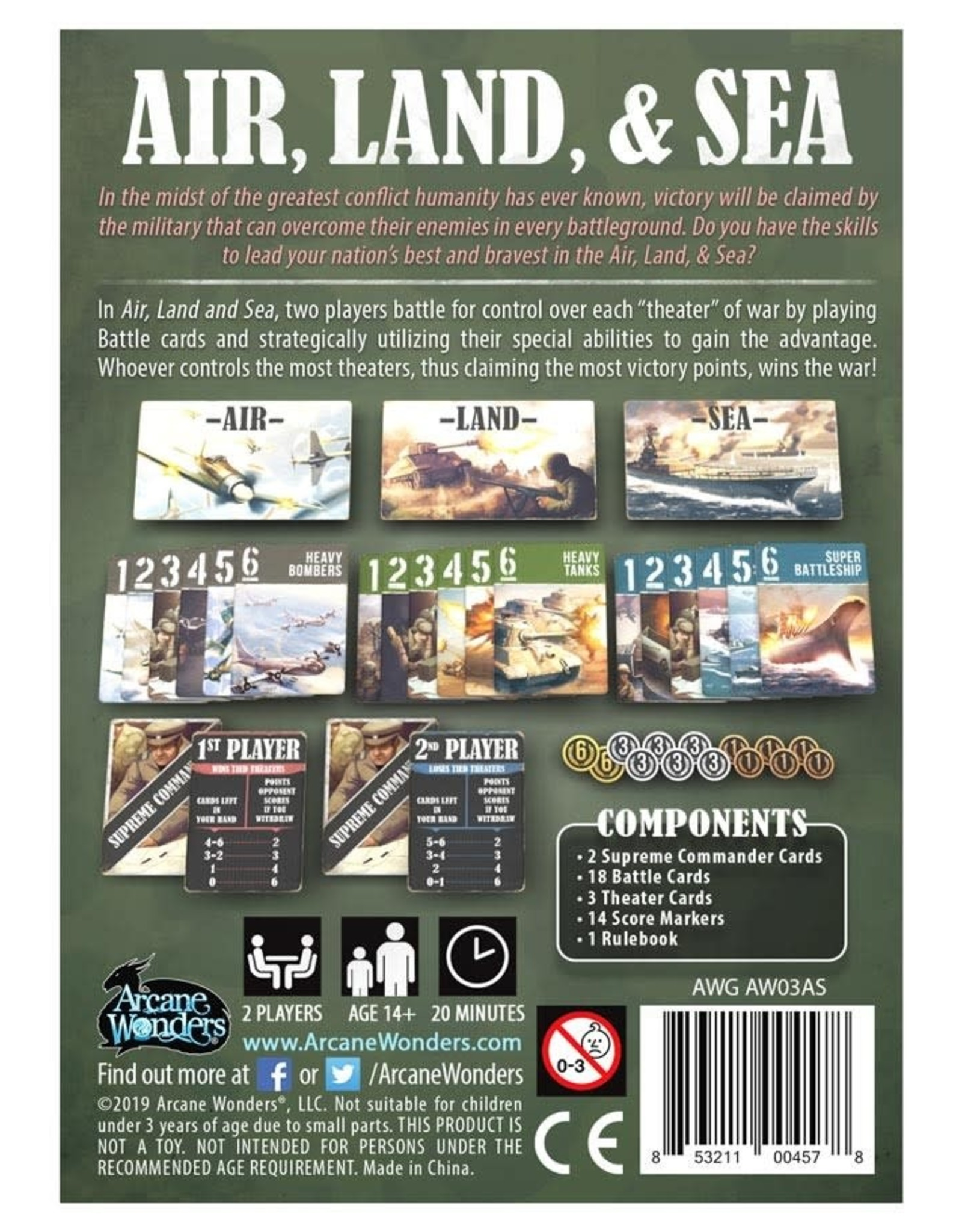 Arcane Wonders Air Land and Sea