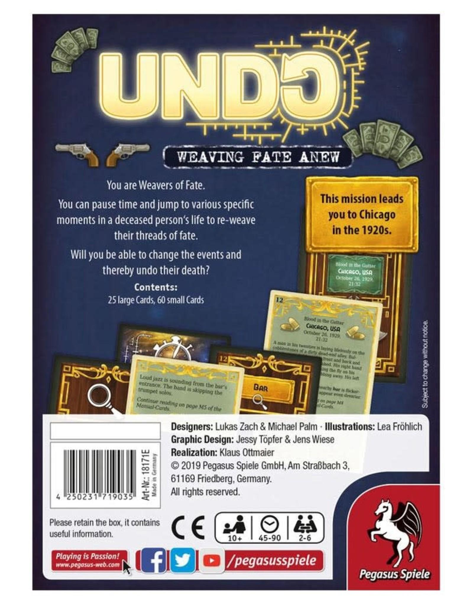 Pegasus Spiele UNDO Blood in the Gutter