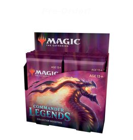 Wizards of the Coast MTG Commander Legends Collector Booster (x12) Display Box