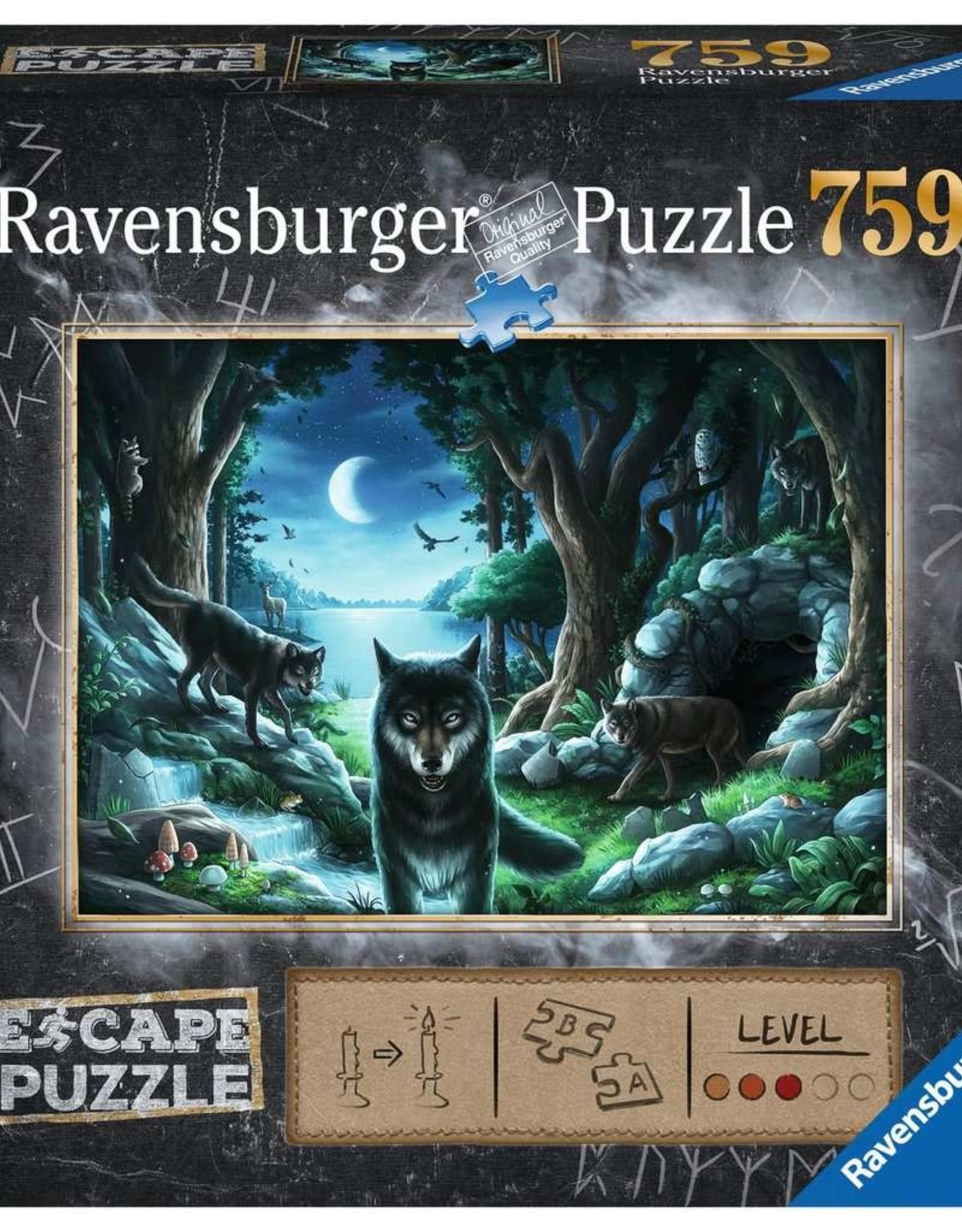 Ravensburger Curse of the Wolves 759 PCS Escape Room