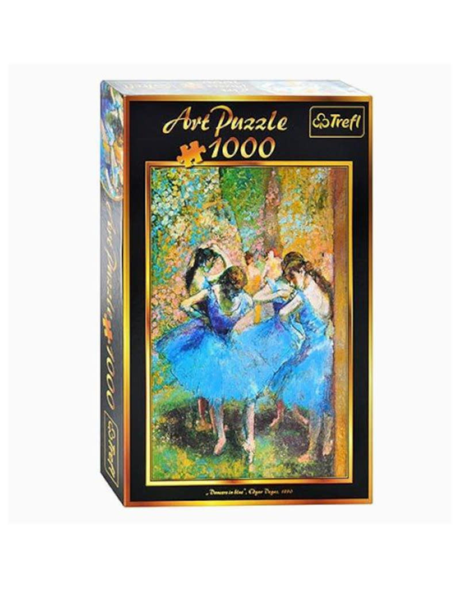 Trefl Dancer in Blue Puzzle 1000 PCS (Edgar Degas)