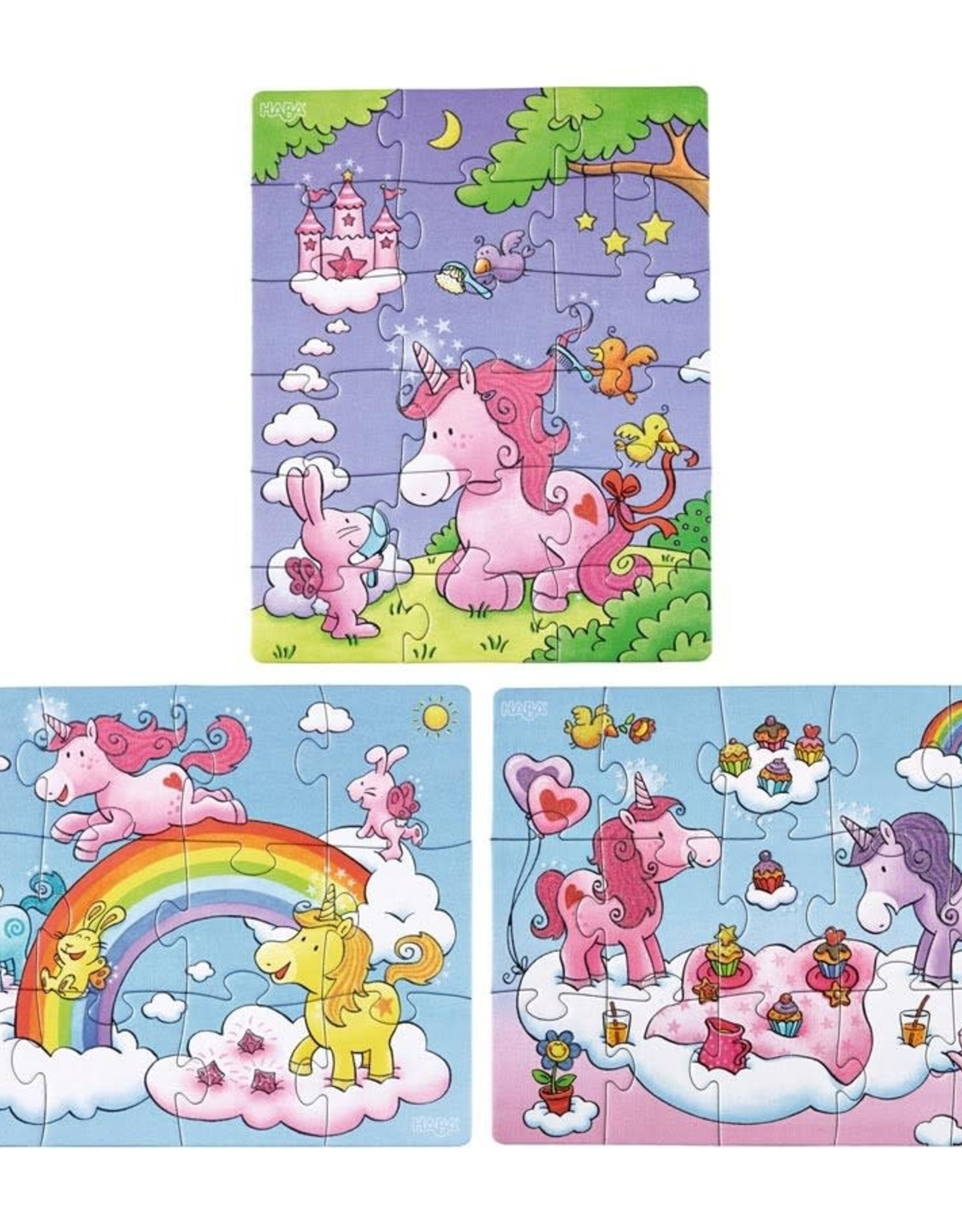 Unicorn Glitterluck Multipack Puzzle