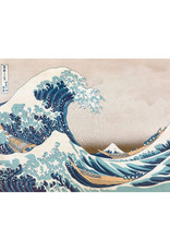 Ricordi Great Wave of Kanagawa Puzzle 250 PCS Laser Cut Wooden Pieces