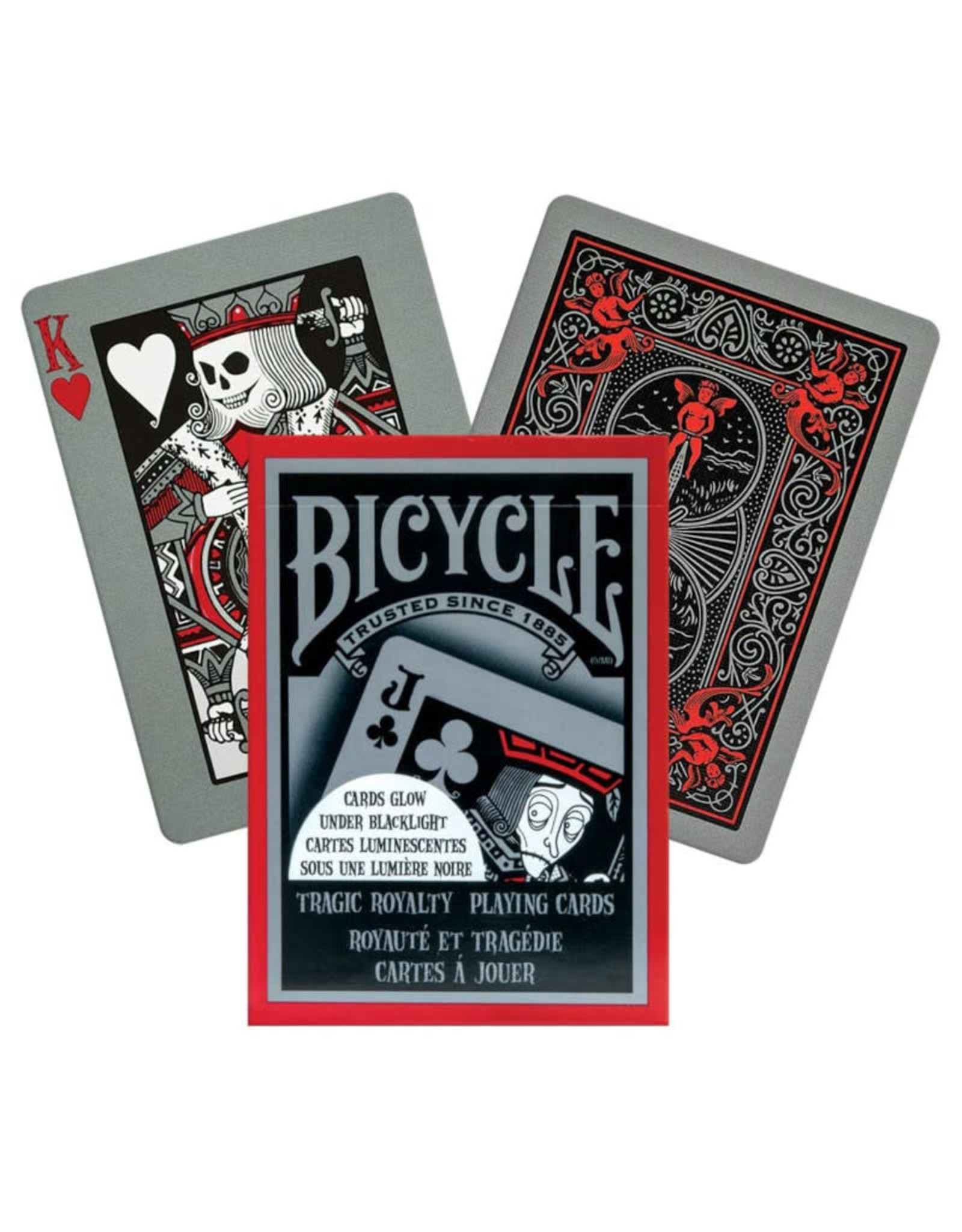 United States Playing Card Co Playing Cards: Tragic Royalty