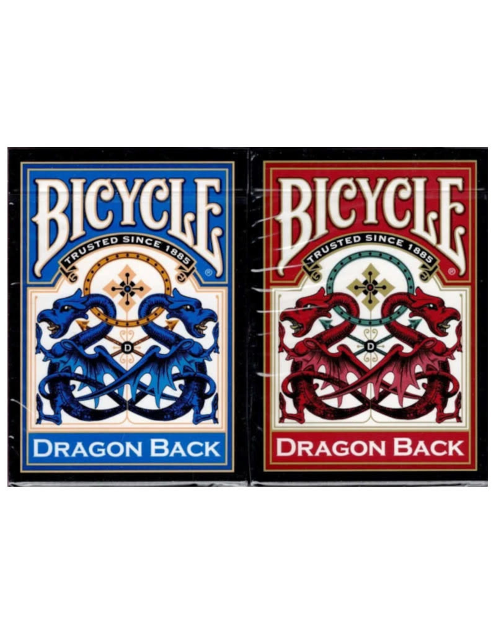 United States Playing Card Co Playing Cards: Bicycle Dragon Back (Red or Blue)
