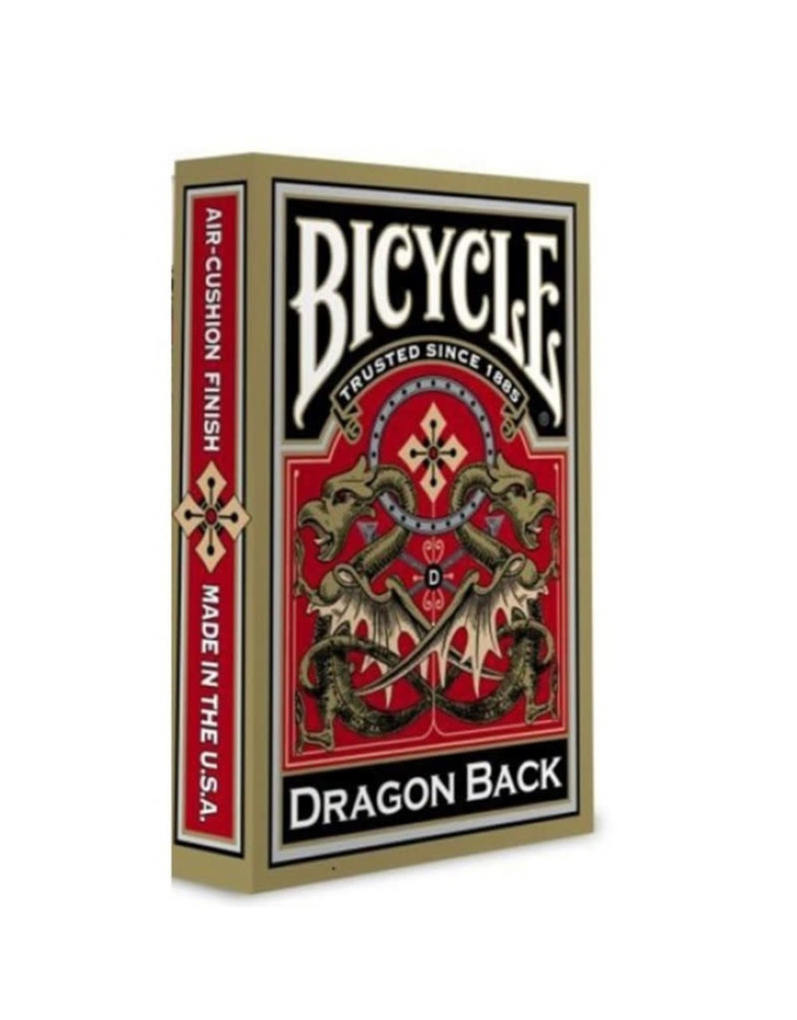 United States Playing Card Co Playing Cards: Dragon Back Gold