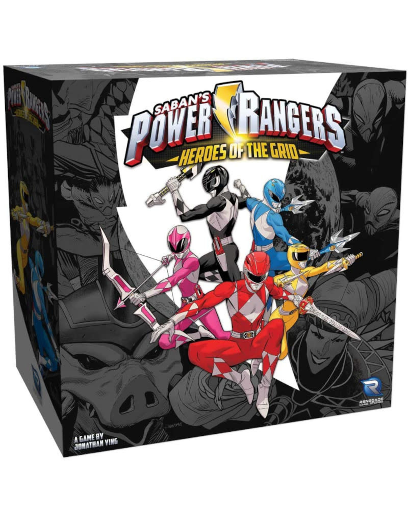 Renegade Games Power Rangers Heroes of the Grid
