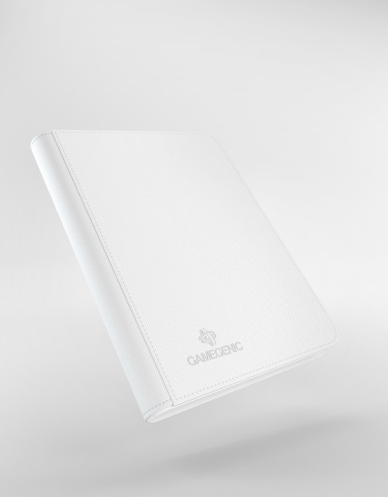 Binder: 8-Pocket Zip-Up Album White