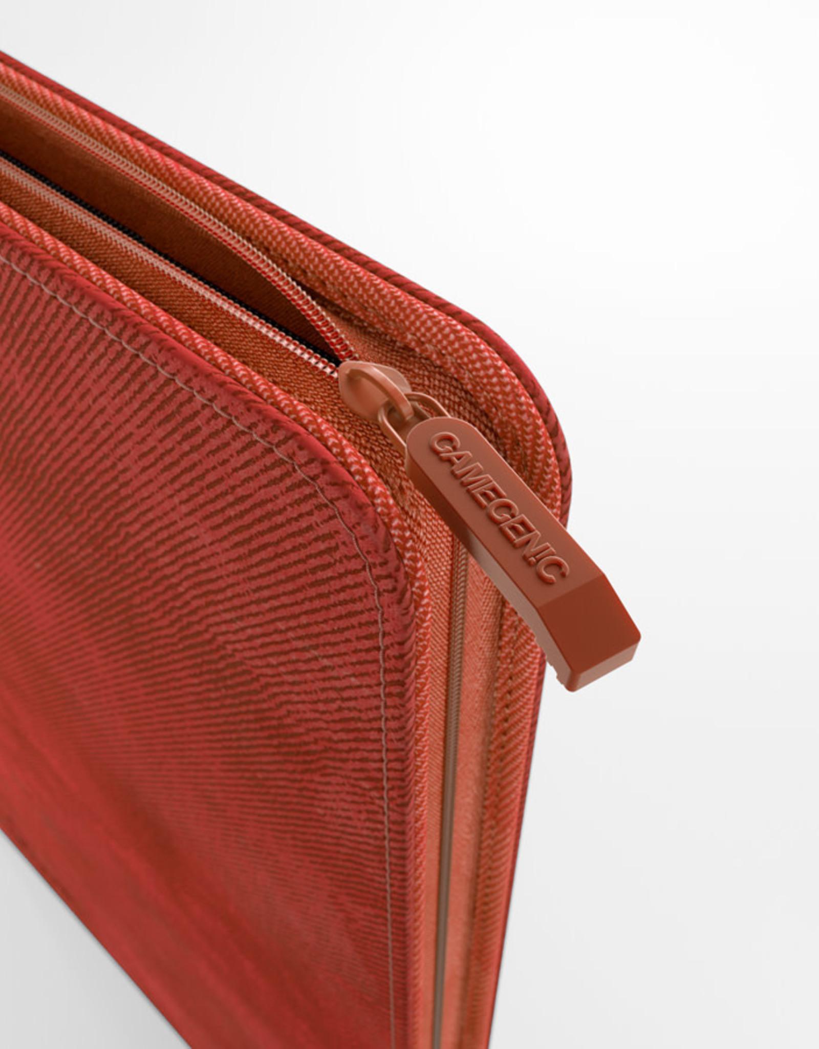 Binder: 8-Pocket Zip-Up Album Red