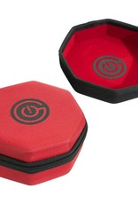 Geek On Dice Tray and Case: Red