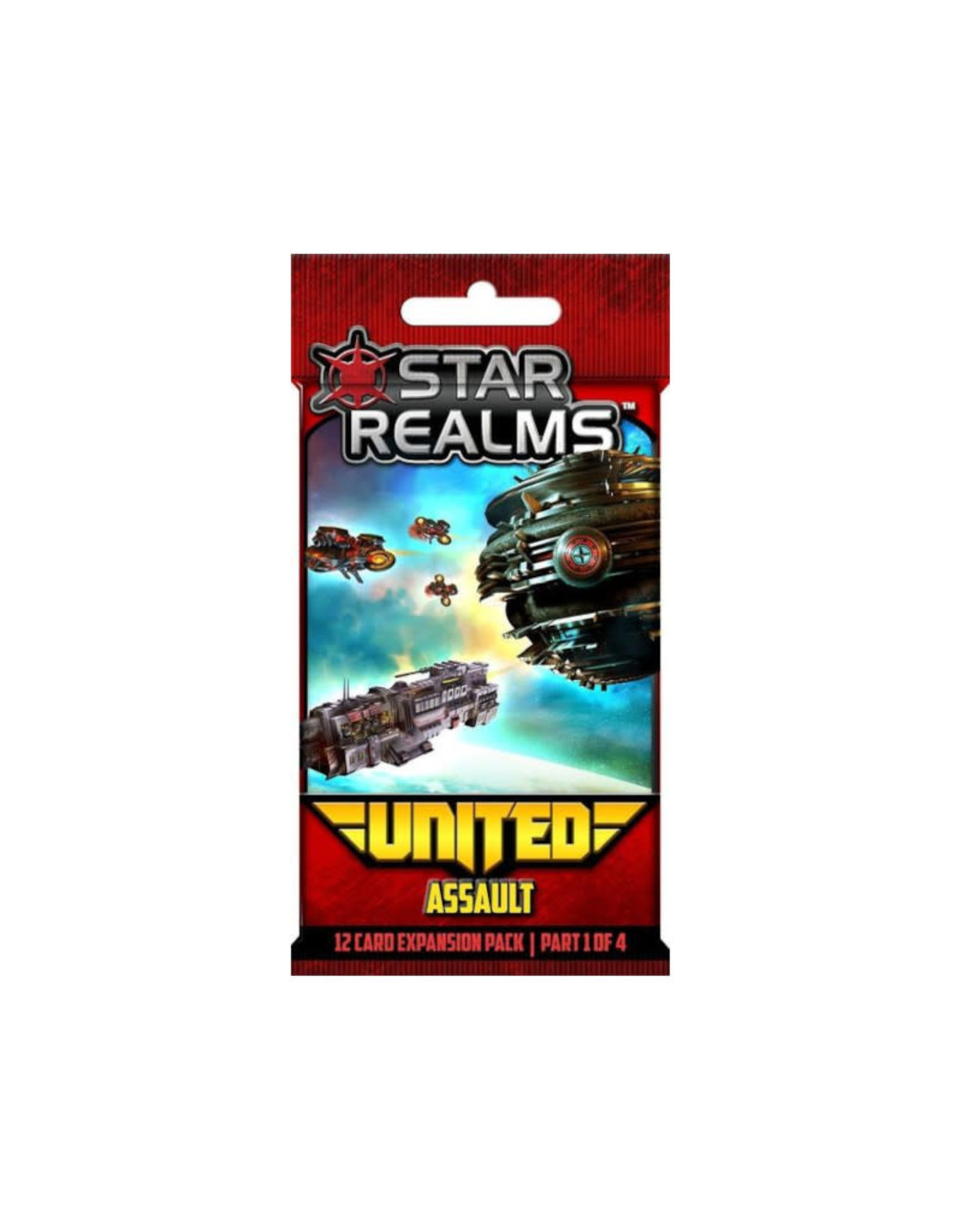 White Wizard Games Star Realms United Assault Expansion