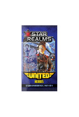 White Wizard Games Star Realms United Heroes Expansion