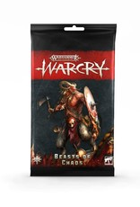 Games Workshop Warhammer Age of Sigmar Warcry: Beasts of Chaos Cards