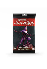 Games Workshop Warhammer Age of Sigmar Warcry: Hedonites of Slaanesh Cards