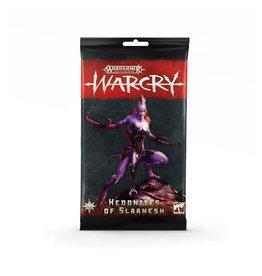 Games Workshop Warhammer Age of Sigmar Warcry: Hedonites of Slaanesh Cards