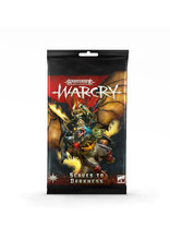 Games Workshop Warhammer Age of Sigmar Warcry: Slaves to Darkness Cards