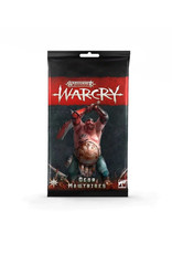 Games Workshop Warhammer Age of Sigmar Warcry: Ogar Mawtribes Cards