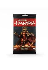 Games Workshop Warhammer Age of Sigmar Warcry: Blades of Khorne Cards